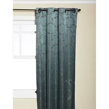 42 Inch Shower Curtain Eclipse Thermaback Meridian Grommet Blackout Window Panel