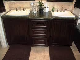 lovable single basin bathroom vanity using ronbow round ceramic