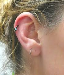 hoop cartilage earrings best black cartilage earring photos 2017 blue maize