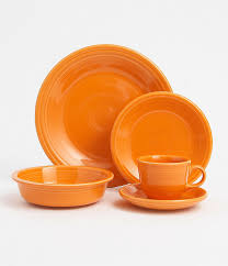 fiesta tangerine dinnerware dillards com orange pinterest