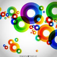 imagenes abstractas con circulos fondo abstracto con círculos descargar vectores gratis
