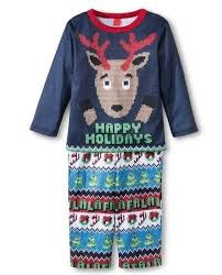Sweater Pajamas Target Sweater Happy Holidays Reindeer Blue L S