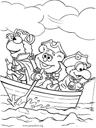 muppet babies coloring