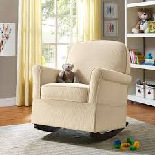 Leather Rocking Chairs For Nursery Upholstered Rocking Chair Design Rocking Chair Image Of Gray