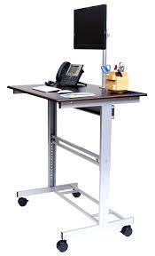 Stand Up Computer Desk Ikea Fancy Adjustable Height Desk Ikea For House Design U2013 Trumpdis Co