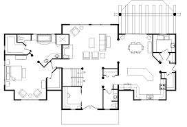 House Plans Open Concept Pleasurable 8 Open Floor Plan Cabin Homes Vintage House Plan