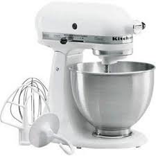 Kitchen Aid Standing Mixer by Kitchenaid Classic 4 5 Quart Stand Mixer K45sswh K4sswh Reviews