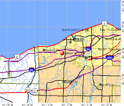 amherst map amherst ohio oh 44001 44053 profile population maps