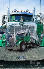 cool semi truck paint jobs w900l custom peterbilt semi truck