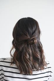 how to pull back shoulder length hair best 25 hair knot ideas on pinterest hair knot tutorial messy