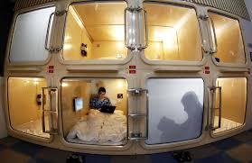 chambre d hote japon le premier hôtel capsule de shanghai ouvre ses portes chine