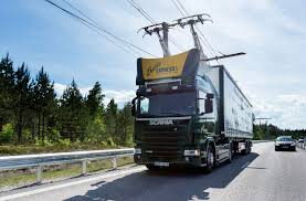 volvo trucks sweden world u0027s first electric road ehighway for electric trucks opens