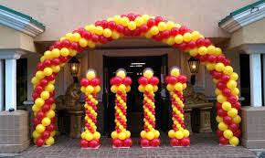 Wall Decoration With Balloons by How To Make A Balloon Arch Balloon Decoration Ideas Youtube