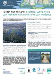 Wetland Resources Of Washington State by February 2 World Wetlands Day