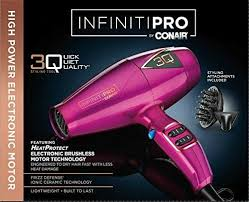 Infiniti Pro Hair Dryer infiniti pro by conair 3q styling tool hair dryer pink