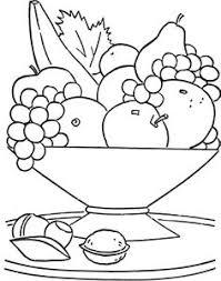 drawn basket outline pencil and in color drawn basket outline