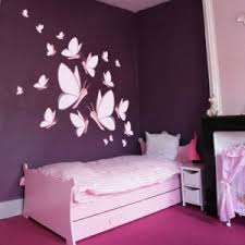 decoration chambre fille pas cher deco chambre fille violet photo stickers d c3 a9co b a9b a9 pas cher