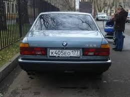 1988 bmw 7 series 1988 bmw 7 series pics 3 5 gasoline fr or rr manual for sale