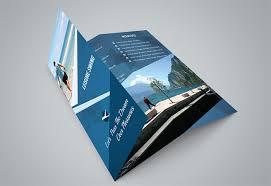 free indesign tri fold brochure template tri fold brochure