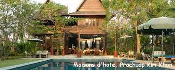 chambre d hote en thailande thailande hotel de charme mer et iles villa et bungalow plage