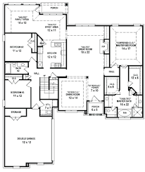 split plan house decoration 1 story house plans with 4 bedrooms bedroom 3 bath