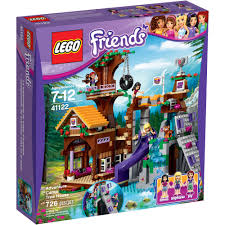lego lego friends adventure camp tree house 41122 walmart com