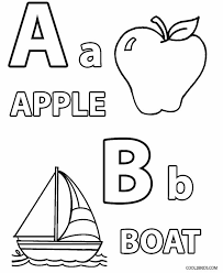 free alphabet coloring pages for toddlers printable toddler