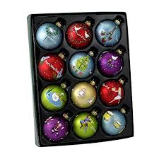 Large Christmas Decorations Amazon by 12 Days Of Christmas Ornaments Amazon Com