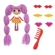 lalaloopsy loopy hair mini lalaloopsy loopy hair doll peanut big top toys