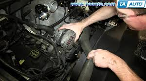 2003 ford mustang alternator how to install replace alternator 2004 08 ford 4 6l v8 f150