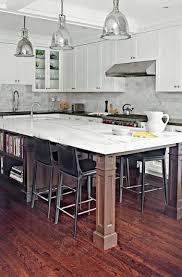 kitchen island with seating for 5 16 best kitchen island support leg ideas images on