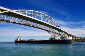 Port Huron Michigan Map by Bluewater Org Blue Water Bridges International Border Crossing