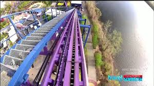 How Far Is Six Flags Bizarro At Six Flags New England Youtube