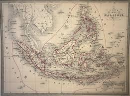 Map Of Malaysia Malte Brun Map Of Malaysia 1861