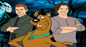 scooby doo supernatural stars reveal new details about their scooby doo crossover