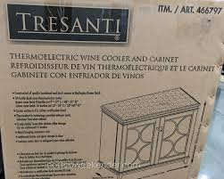 Glass Curio Cabinet Costco Tresanti Wine Cabinet Costco 21 Gallery Image And Wallpaper