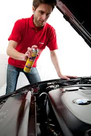 spray the engine bay sonax cleaning and polishing like a