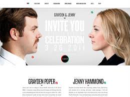 wedding invitation websites 25 exles of beautiful wedding invitation websites of