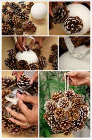 tree decorations made from materials 20 ideas