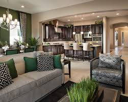 model home interior decorating model living room design home design ideas answersland