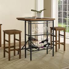 Bar Stools At Kohls Furniture Sienna Wine Rack Bistro Table U0026 Bar Stool 3 Piece Set