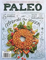 Paleo Magazine Amazoncom Magazines