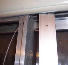 sliding glass door repair phoenix cable actuated klozit sliding glass door closer