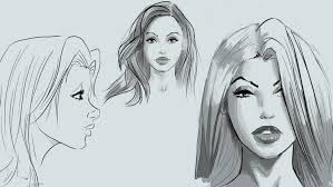 learn to draw pretty faces for comic books udemy