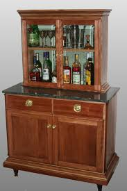 Bar Hutch Furniture Appealing Antique Liquor Cabinet With Wooden Source For