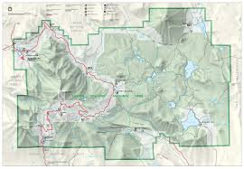 Forest Park Map File Lassen Volcanic National Park Map 2006 07 Png Wikimedia Commons