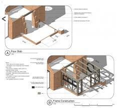 how to frame a floor tom kaneko design architecture sketch design build in