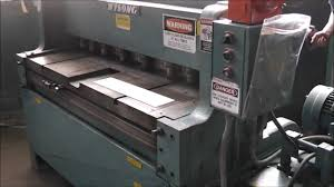 100 wysong hydraulic press brake manual machinery videos of