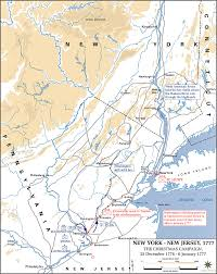 United States Territorial Growth Map by Of The Battles Of Trenton And Princeton 1776 7