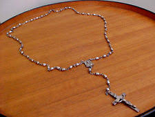 creed rosary vintage sterling creed rosary ebay
